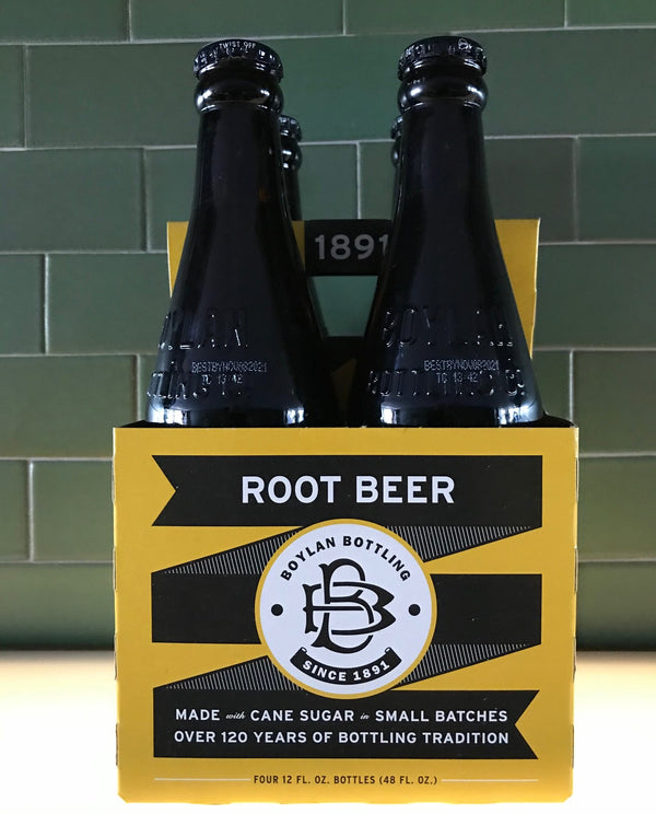 Boylan's Root Beer, 4-pack