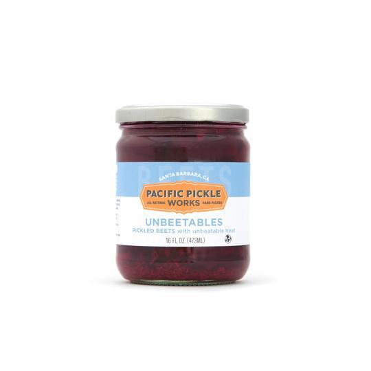 Pacific Pickle Works, Unbeetables, pickled beets with unbeatable heat