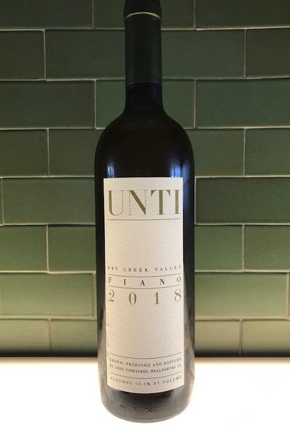 Unti Fiano 2018, Dry Creek Vineyard