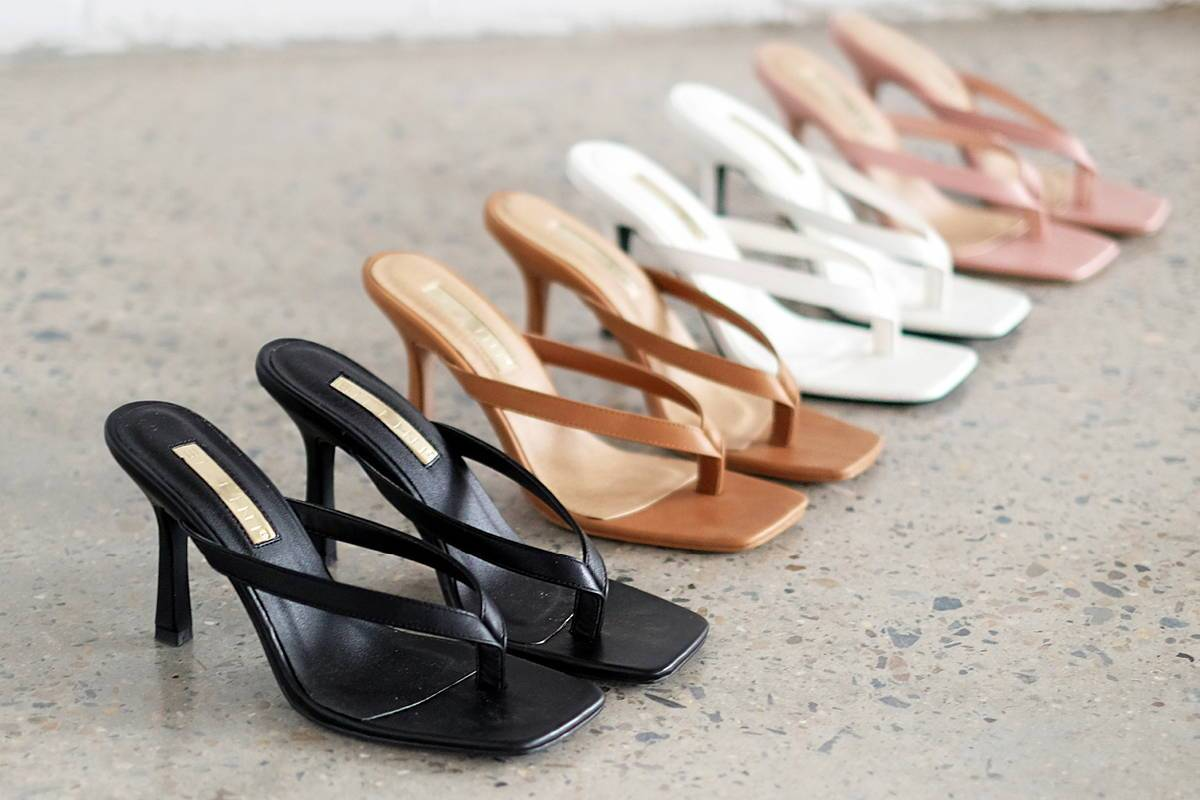 CURRENTLY TRENDING: THE THONG SANDAL
