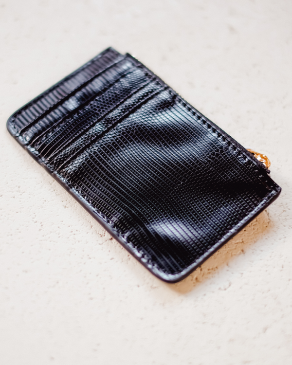 AIMEE CARD HOLDER - BLACK SCALE
