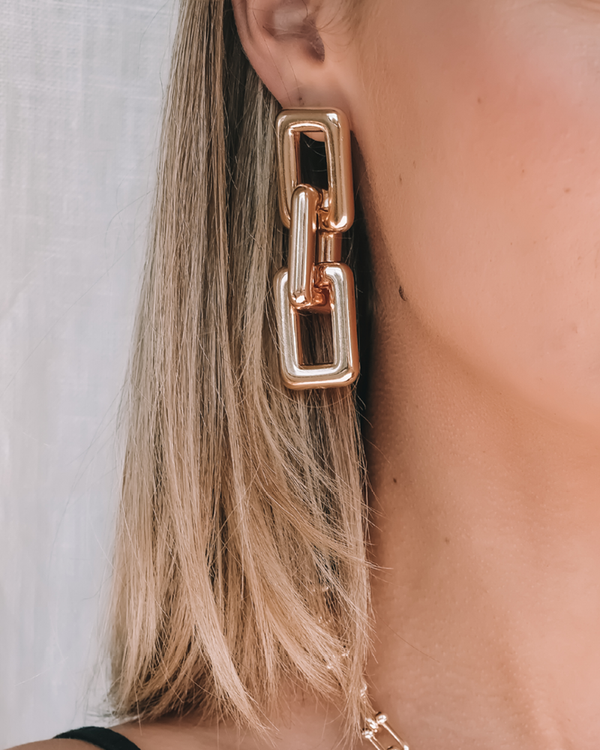 AUDEN EARRINGS - GOLD