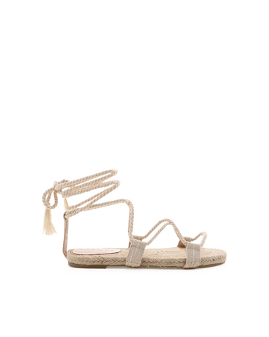 KAILEY - NATURAL LINEN-Sandals-Billini-BILLINI USA