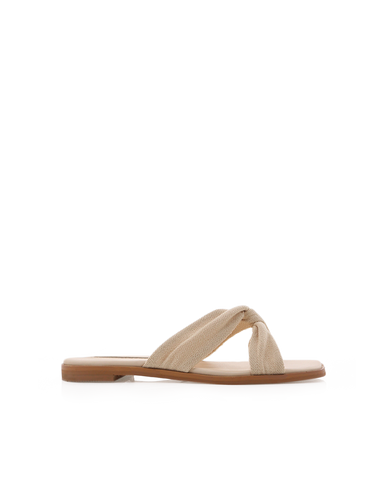 LETA - CREAM LINEN-Sandals-Billini-BILLINI USA