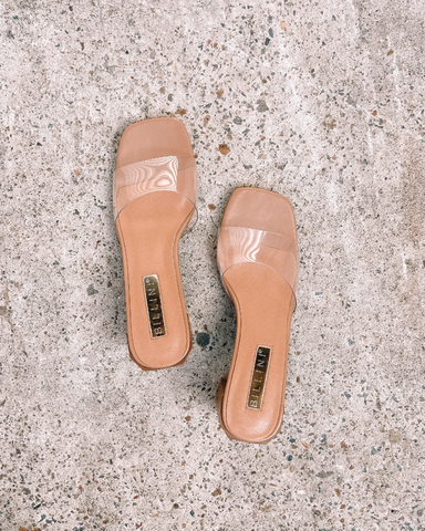 LUCY - CLAY/CLEAR-Heels-Billini-BILLINI USA