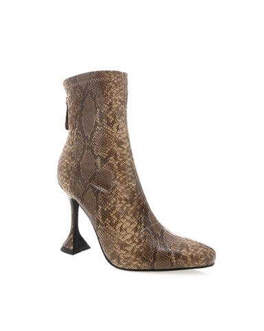 TRINITY - BROWN PYTHON-Boots-Billini-BILLINI USA