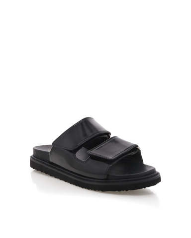 ZUZU - BLACK PATENT-Sandals-Billini-BILLINI USA