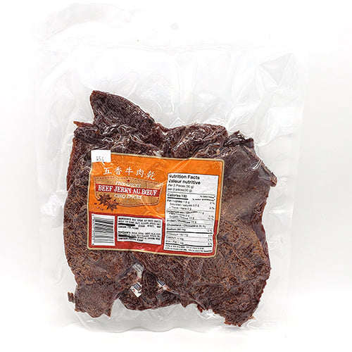 SOO Five Spices Beef Jerky 454g