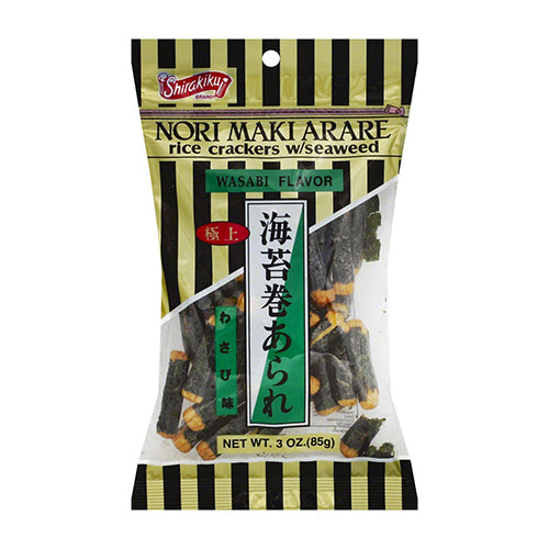 Shirakiku Rice Crackers ( Wasabi Flavor) 85g