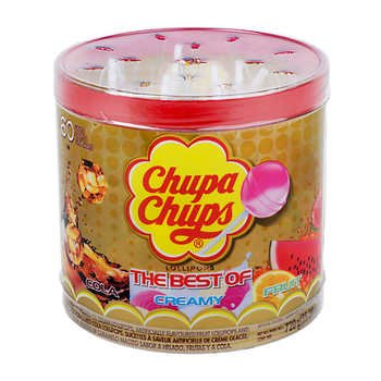 Chupa Chups The Best Of Lollipops 60pcs