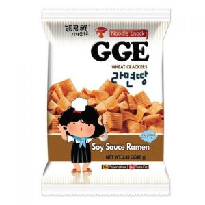 GGE Noodle Snack (Soy Sauce Ramen) 80g