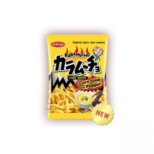 koikeya Karamucho Corn Snacks (Corn Soup & Pepper) 65g