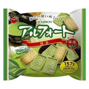 BOURBON Alfort Matcha 12pcs 157g