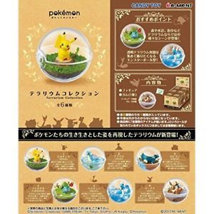 Re-Ment POKEMON Terrarium Collection (6 kinds in a set)