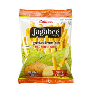 Calbee Jagabee Light Salted Potato Crisps 40g