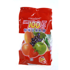 Cocoaland Lot 100 Assorted Fruit Gummy 150g