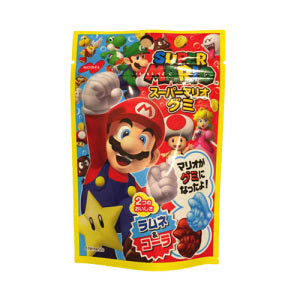 Nobel Super Mario Ramune & Cola Gummy 45g