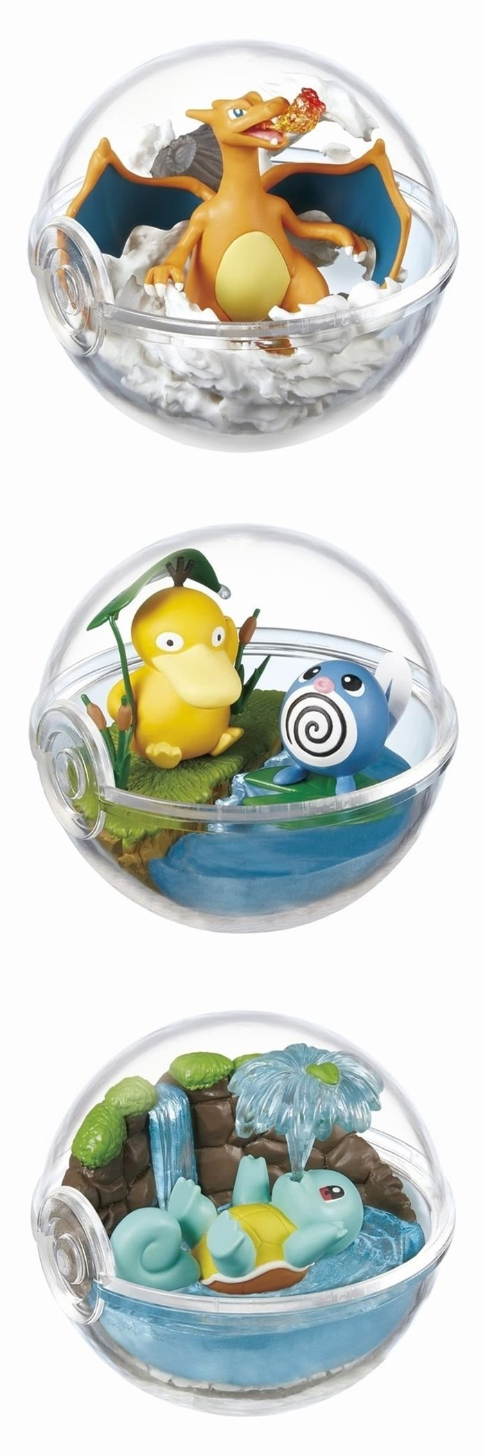 Re-ment Pokemon Candy Toy Terrarium 2 Collection (6 kinds in a set)