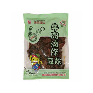 Te Chang Bean Curd Strips (Braised Beef Flavor) 350g