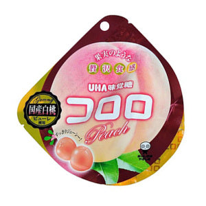 UHA Kororo Fruit Juice Gummy (Peach) 40g
