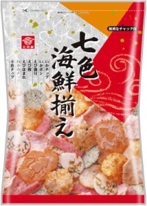 Mikawayaseika 7 Color Seafood Cracker 145g