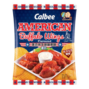 CALBEE Chips (American Buffalo Wings Flavor) 55g