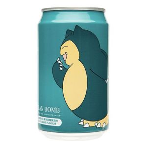 Ocean Bomb Pokemon Sparkling Water (White Grape Flavor) 330ml