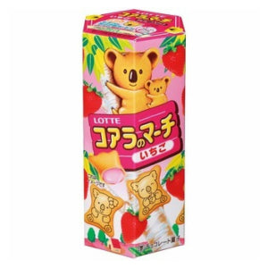 Lotte Koala Biscuits (Strawberry Flavor) 50g