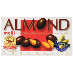 MEIJI Almond Chocolate 88g