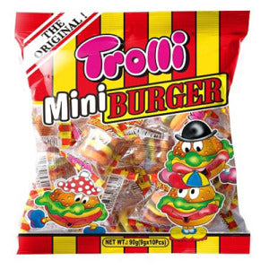 TROLLI Mini Burger (Original Flavor) 90g