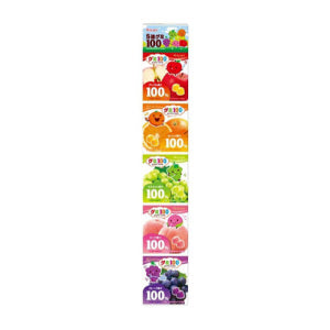 Kasugai Assorted 5 Fruits Gummy Candy 115g