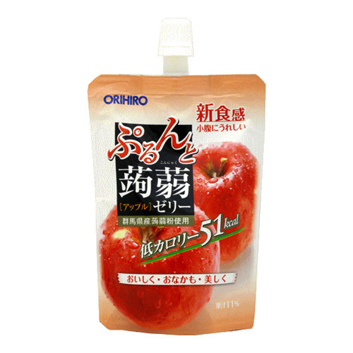 ORIHIRO Konjac Jelly Drink Apple Flavor 130g