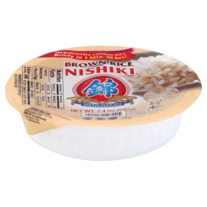 NISHIKI Fully Cooked Brown Rice 210g