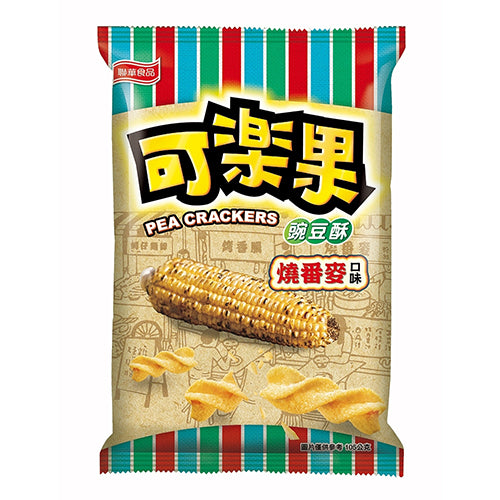 Lianhwa Pea Crackers (Roasted Corn Flavor) 105g