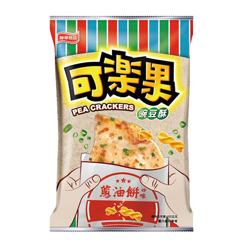 Lianhwa Pea Crackers (Scallion Pancake Flavor) 105g