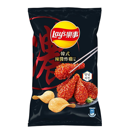 Lay's Potato Chips (Korean Spicy Fried Chicken Flavor) 75g