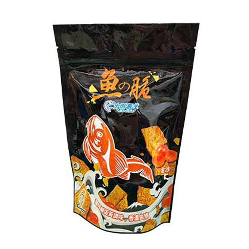 DAH TIEN Fish Chips (Salted Egg Yolk Flavour) 50g
