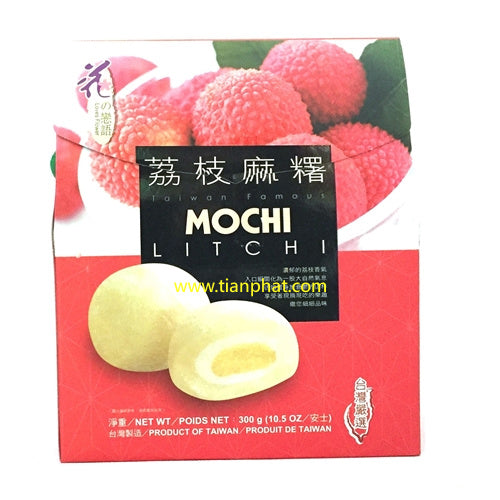 Taiwan Loves Flower Mocih Litchi Flavor 300g