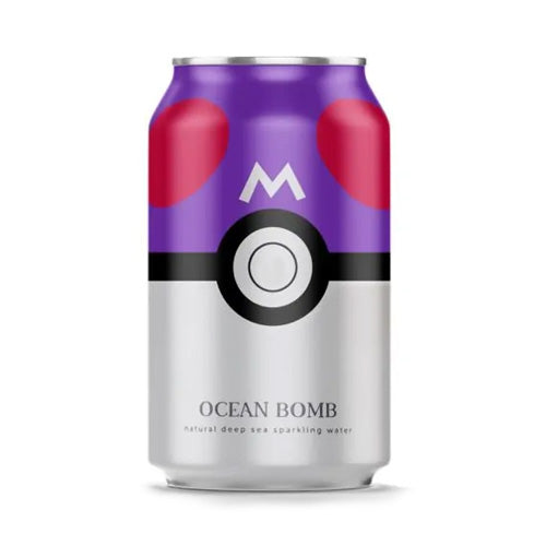 OCEAN BOMB Pokemon Sparkling Water (Original) 330ml