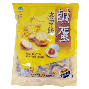 MINCHER Salted Egg Yolk Mait Sugar Biscuit 150g (Taiwan Product)
