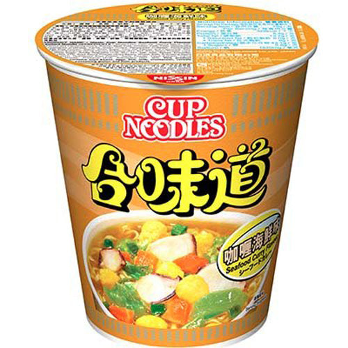 NISSIN Cup Noodles (Curry Seafood Flavor) 75g