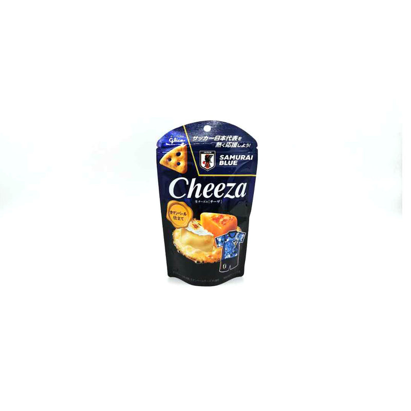 Glico Cheeza Camembert Cheese 53% Crackers 40g