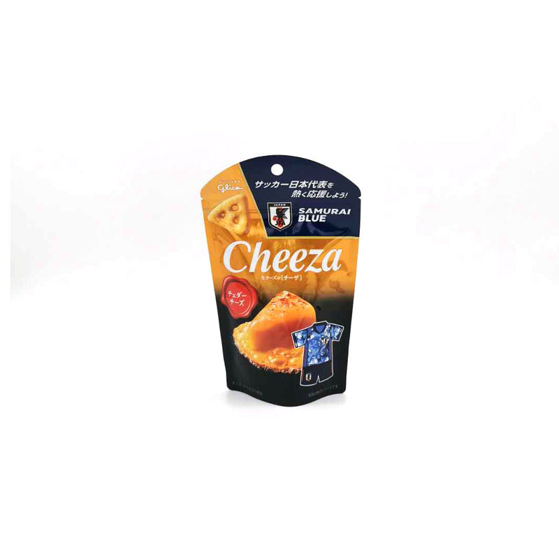 Glico Cheeza Cheddar Cheese 53% Crackers 40g