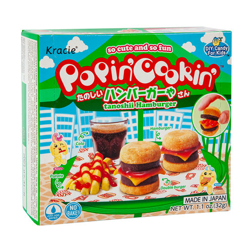 Kracie Popin' Cookin' Hamburger and Fries Candy 31g
