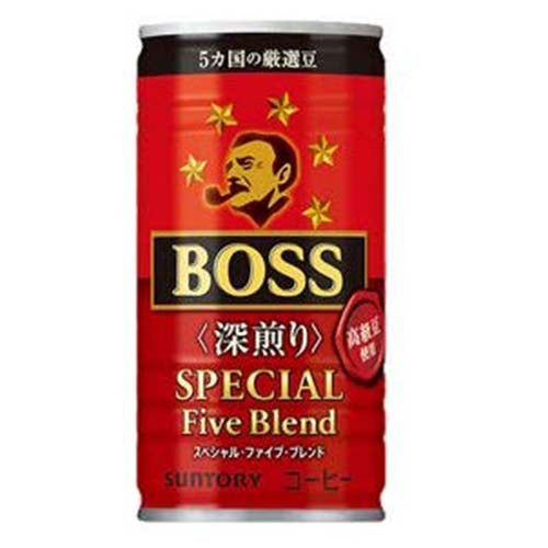 Suntory Boss Coffee Special Five Blend 185g