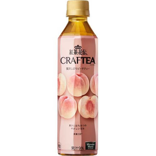 Coca Cola Craftea Peach Tea 410ml