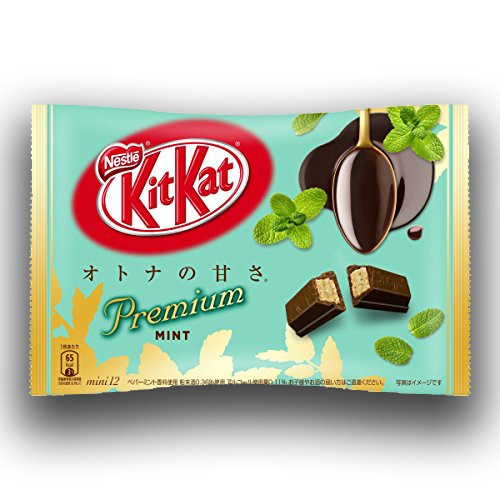 Nestle Kitkat Mini Premium Mint