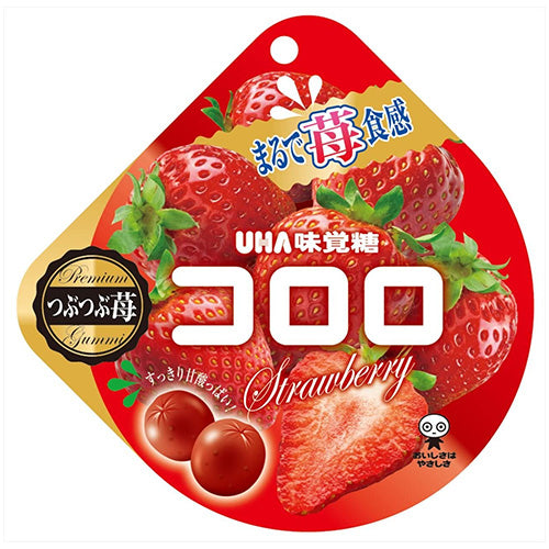 UHA Kororo Fruit Juice Gummy (Strawberry) 40g