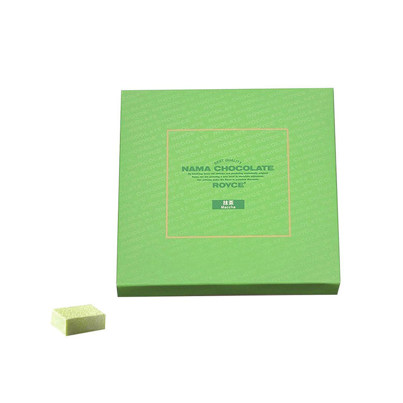 Royce Raw Chocolate (Matcha Flavor) 20pcs