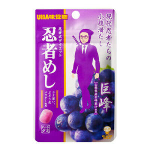 UHA Ninja Meshi Grape Candy 20g